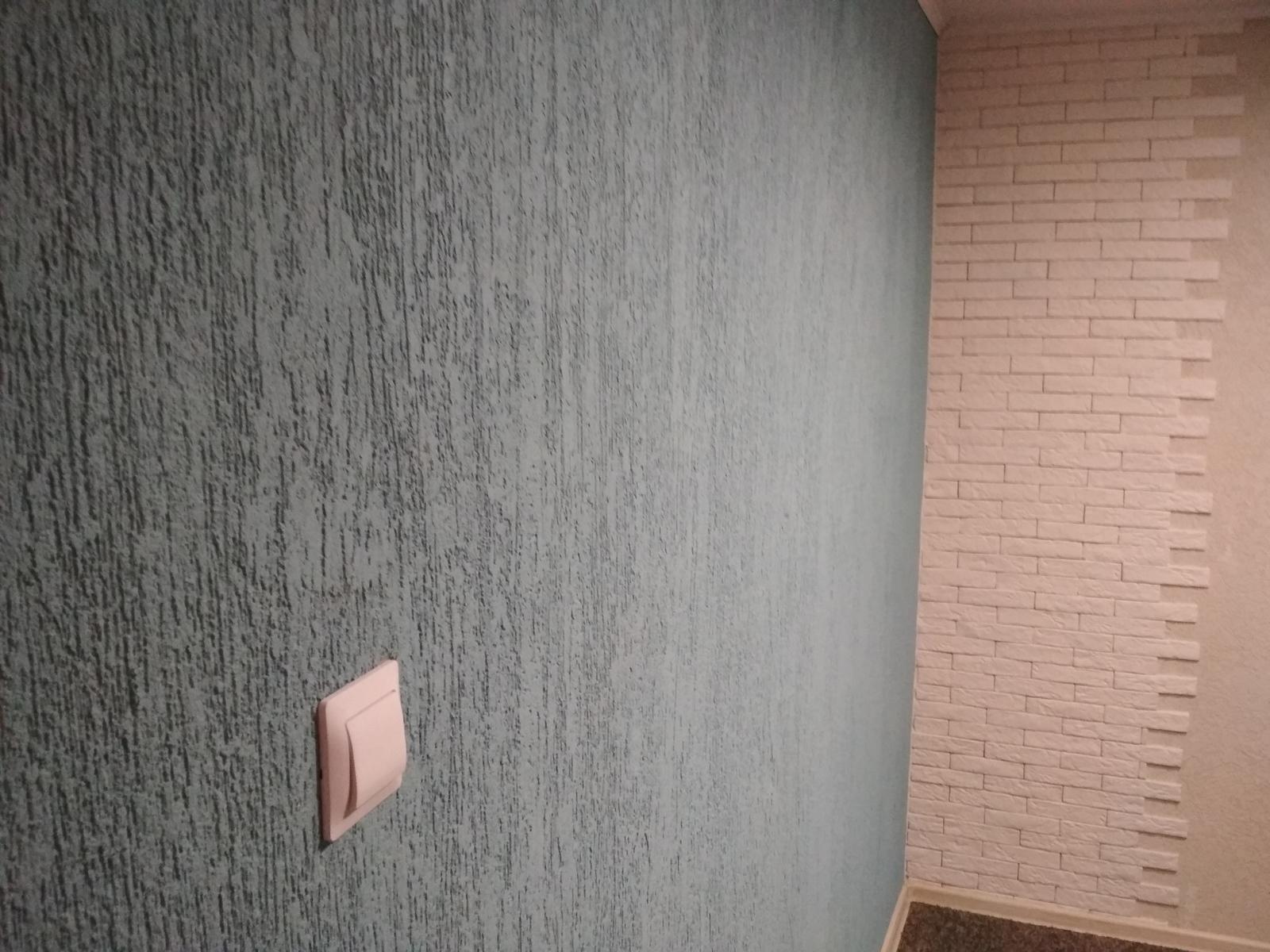 штукатурка короед в интерьере квартиры